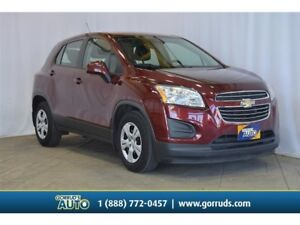 2016 Chevrolet Trax LS/FWD/RAIN SENSE WIPERS/REMOTE START/BLUETO