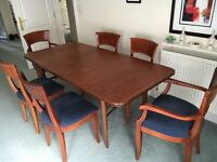 Dining Room Suite with 6 Chairs and Sideboard