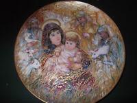 The Edna Hibel Christmas Plate for 1988