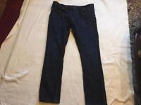 Contruction men's jeans straight W36/L32 used £4