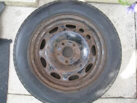 vauxhall steel wheel 15 inch 5stud
