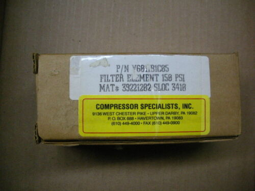 Vickers hydraulic filter element  V6011B1C05 NIB new