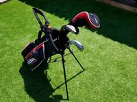Kids Junior Golf Clubs With Stand Bag 5-9 Years
