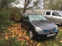 Renault Clio 1.2 57 plate