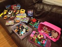 Large amount of boys & girls Lego new & used