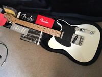 USA Fender American Telecaster Olympic White + NEW CASE