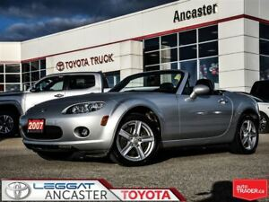 2007 Mazda MX-5 GS POWER HARD TOP & ONLY 35082 KMS!!