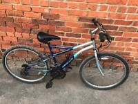 """Apollo Gradient 17"""" Frame Mountain Bike. Serviced. Free Lock, Lights & Local Delivery."""