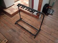 5 space guitar rack stand