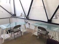 Bright Mezzanine Studio Space in Tottenham Hale