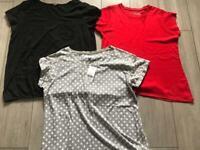 Size 18 ladies clothes bundle tops T-shirt's