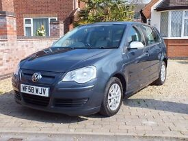 2009 Volkswagen Polo 1.4 TDI Bluemotion 2, Full Service History, Cambelt Done