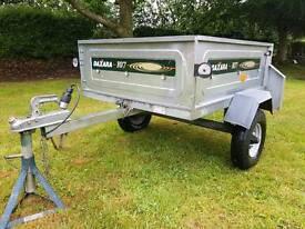 Daxara 107 tipping trailer