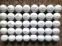 40 TopFlite golf balls in very good condition, xl2000/3000/5000, distance, straight