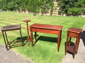 Selection of 4 pieces of furniture, Great condition