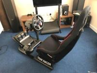 Sim Racing Rig complete with Logitech G29 Wheel/Pedals/Shifter