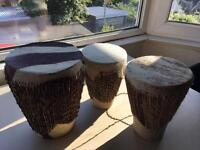 Traditional African Bongo Drums