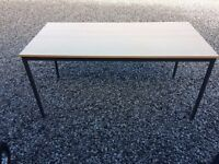 Office table near 5ft long £16 free local delivery