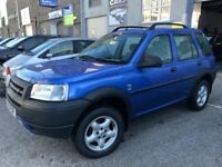 ONLY 77000 GENUINE MILEAGE 4X4 FREELANDER TD4 (BMW ENGINE), MOT JANUARY 2018, FULL SERVICE HISTORY