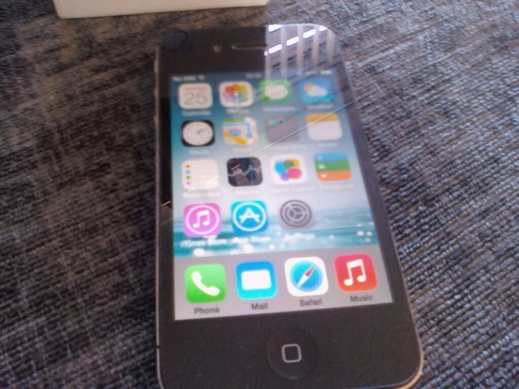 iphone 4 on ee 8gb blackin Middleton St George, County DurhamGumtree - iphone 4 on ee 8gb blackin nice condition and boxed thanks for looking price is 40 pounds