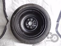 """Mitsubishi Colt 2004-2008 15"""" Spacesaver Wheel with Tyre T115/70 R15"""
