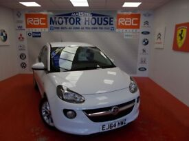 Vauxhall Adam JAM(£120.00 ROAD TAX) FREE MOT'S AS LONG AS YOU OWN THE CAR!!! (white over black) 2015
