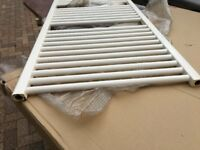Towel rail in off white/cream. 112 x 60cm (used)