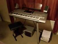 Tyros 4 Yamaha Keyboard