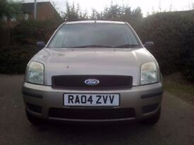 Ford fusion 1.4 semi auto & automatic gear box drives great 9month MOT very reliable