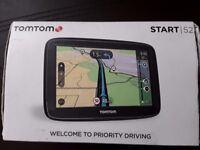 TOM TOM 52 START SAT NAV BOXED WITH ALL ACCESSORIES. £45.TODAY ONLY.