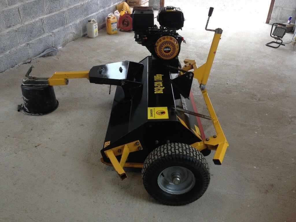 Atv flail mower(topper) can be towed by quad or truck,360cc logistic  engine,pull start,4ft cut | in Lybster, Highland | Gumtree