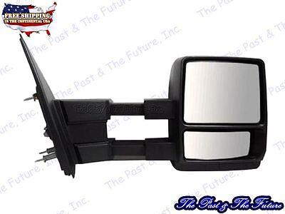 Textured Manual Telescopie Side View Dual Arm Tow Door Mirror Right FD959410GR