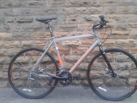"Claud Butler CX9 Light Weight XL 23"" FRAME 16 speed Road Bike Racer Custom Hybrid - RRP £699"
