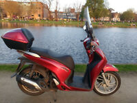 SCOOTER HONDA SH 125i 2014, MOT until March and new tyres