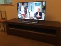 Walnut/Brown TV stand