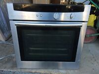 Neff stainless steel oven