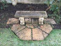 Stone Garden Seat *Reduced*