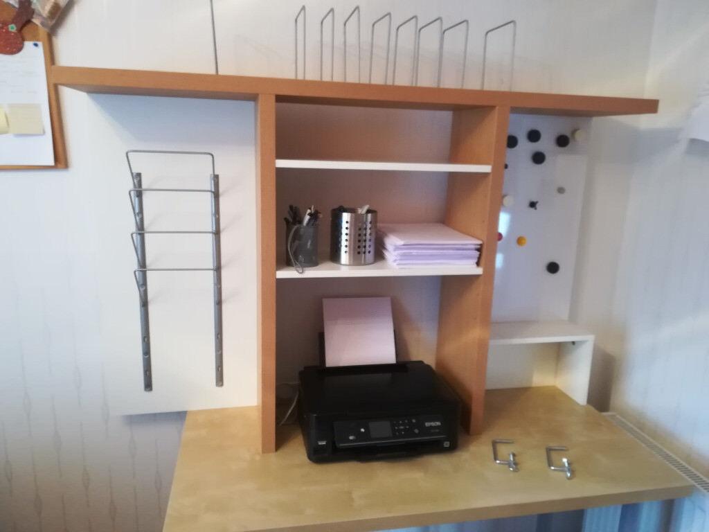 Ikea Over Desk Tidy Storage