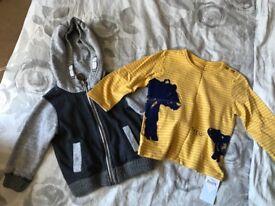 Boys hoodies and snowsuit