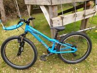 "Childs Commencal Mountain Bike, 24"" wheels, suit age 8-10"
