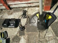 Wireless Grass Trimmer + gardening scissors