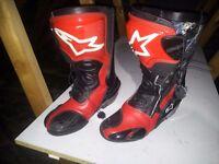 alpinestar smx boots uk7.5 . . .