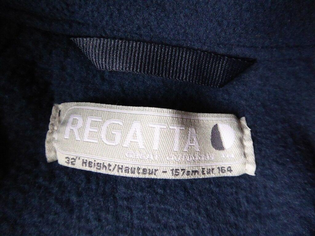 """Regatta boys blue fleece jacket size 32"""""""