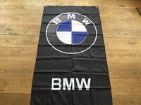 BMW workshop flag banner 1 series 3 series 5 series x3 x5 x6