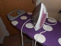 Iron + Ironing board