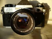 CANON AE1 PROGRAM WITH LENSES AND ACCESSORIES