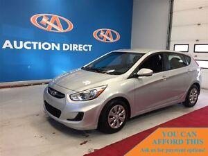 2016 Hyundai Accent BLUETOOTH, HEATED SEATS, FINANCE NOW!