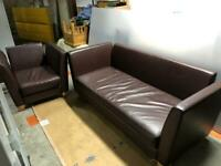 🚚🚚🚚Beautiful Branded 3 Seater Sofa With Arm Chair For Sale Great Condition Free Delivery Radius