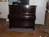 PIANO (PATTERSON &SONS CO LTD)SINGLE STRUNG /TUNED /CLEANED/ DELIVERED /READY TO PLAY