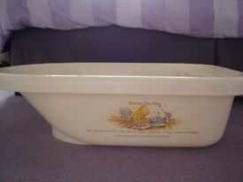 Winnie the Pooh Bath and Top and Tail Bowl
